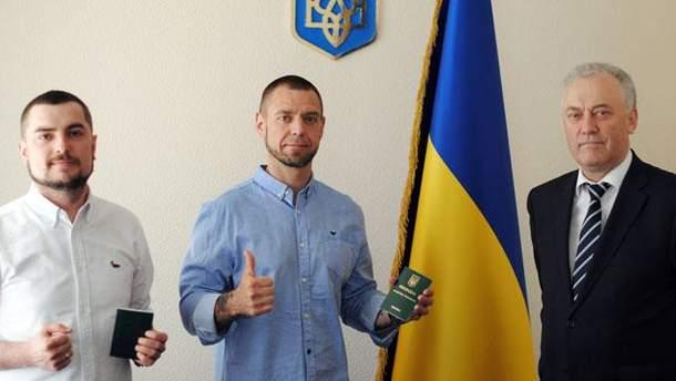 Сергей Михалок и его продюсер Антон Азизбекян.