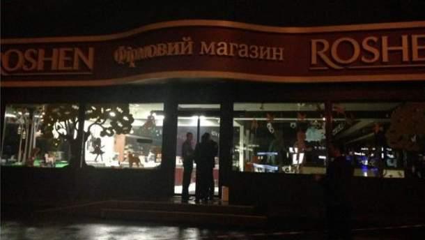 В магазині Roshen пролунав вибух