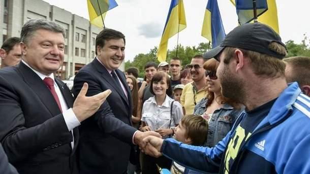 Михеил Саакашвили в Одессе