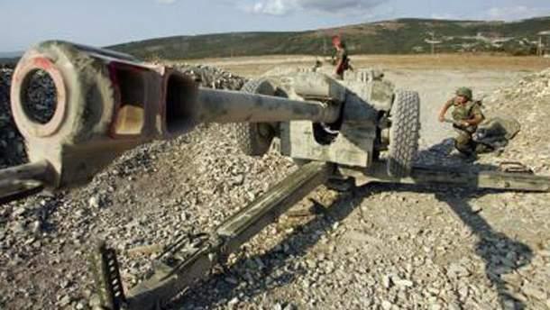 122 мм артиллерия