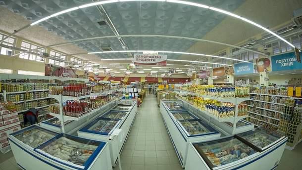 Супермаркет в Криму