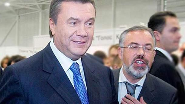 Табачник и Янукович