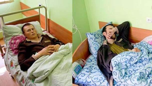 Задержанные в Луганской области российские военные