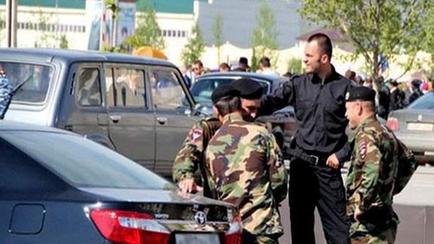 Працівники силових структур Чечні