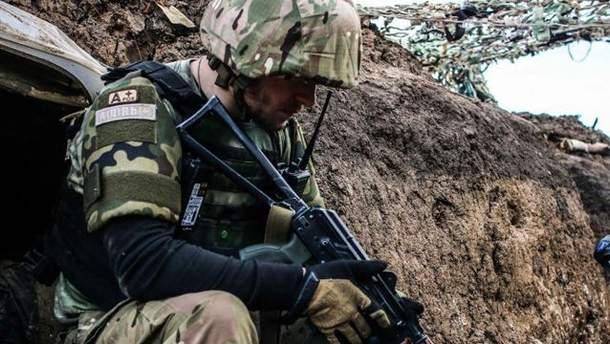 Террористы с неба следят за силами АТО. Палят вблизи Мариуполя
