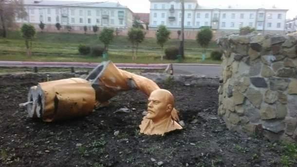 Обломки Ленина