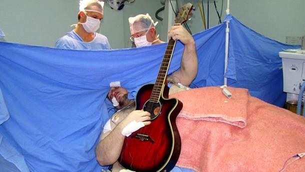 Бразилець, що зіграв пісню під час операції
