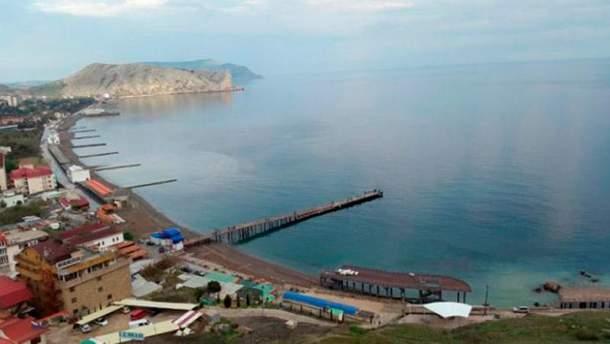 Безлюдные крымские пляжи