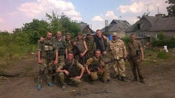 Бійці 28-ї бригади, які боронили Мар'їнку