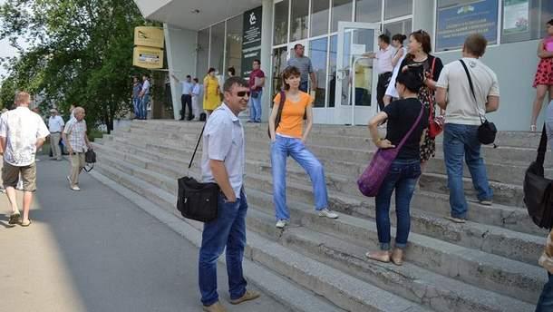 """""""Мітинг"""" у Сєвєродонецьку"""