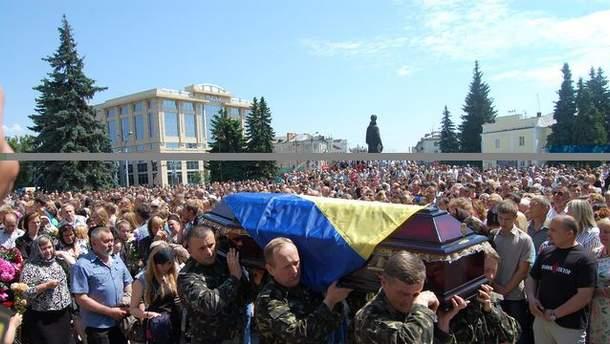 Похороны бойца