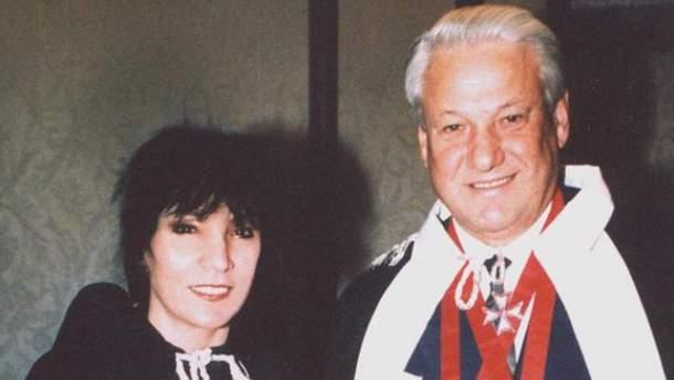 Джуна Давіташвілі і Борис Єльцин