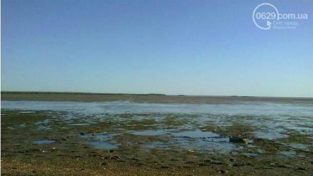 Море відійшло від берега