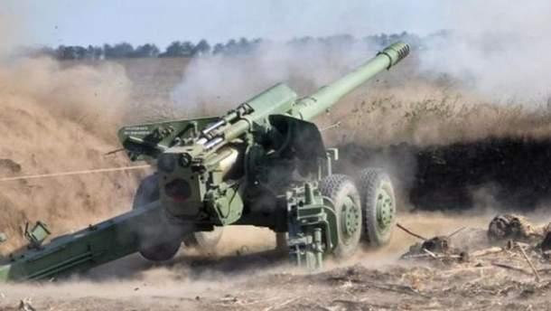 Артилерія бойовиків