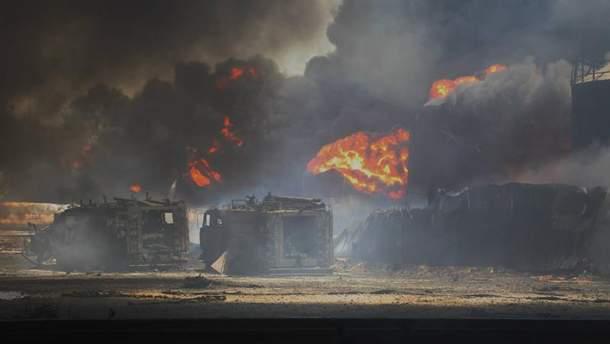 Пожежа під Васильковом