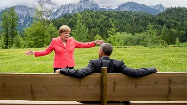 Меркель і Обама