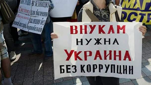 Плакати проти корупції