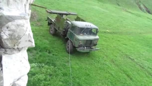 """Боевики применили модифицированные """"Грады"""""""