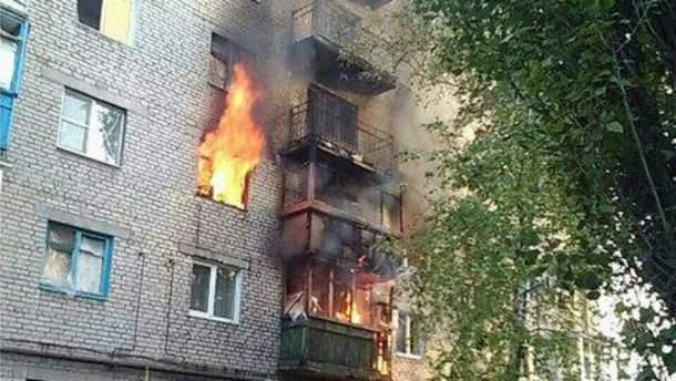Пожежа у Донецьку