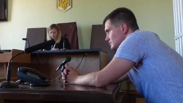 Заседание Днепровского районного суда Киева