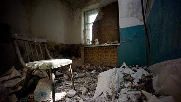 Последствия обстрелов террористов на Донбассе