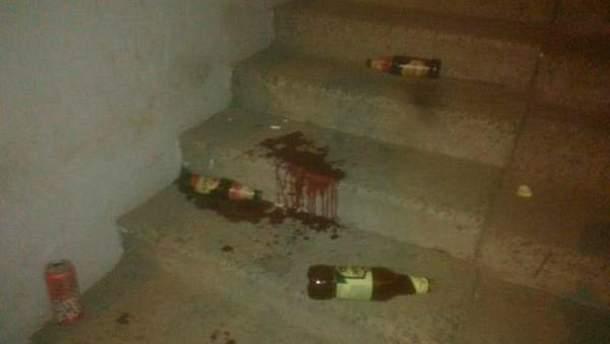 Место резни в Харькове