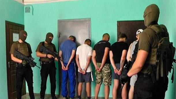 Задержанные в Харькове преступники