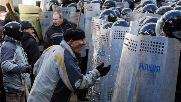 Протесты на Майдане