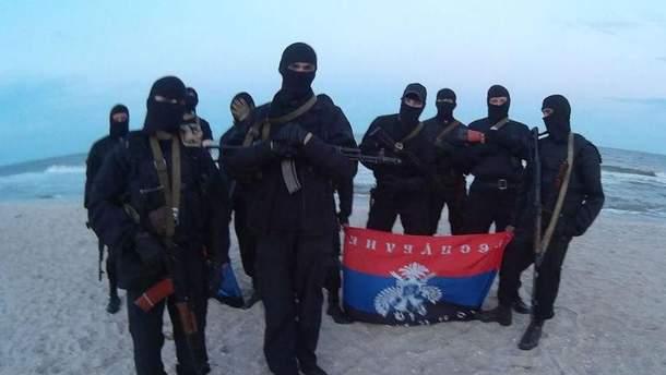 """Розтоптаний прапор """"ДНР"""""""