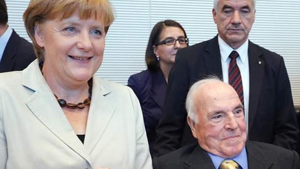 Ангела Меркель і Гельмут Коль