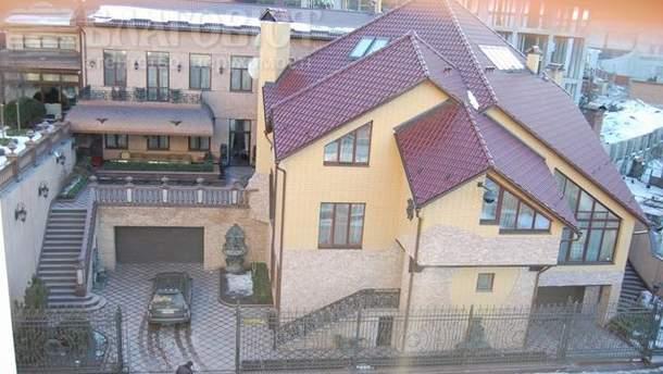 Дом, где жил Курченко