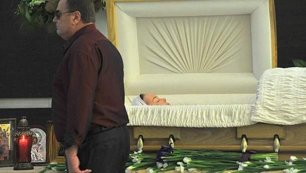 Похороны Фриске