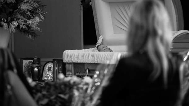 Прощание с Жанной Фриске