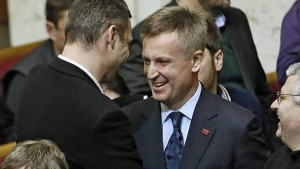 Владимир Кличко и Валентин Наливайченко