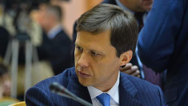 Министр экологии и природных ресурсов Игорь Шевченко