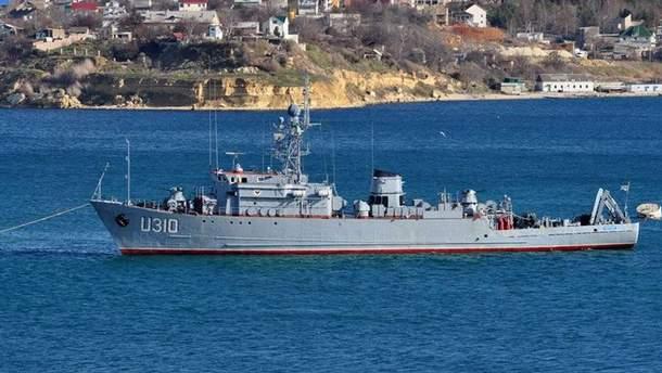 Український корабель у Криму