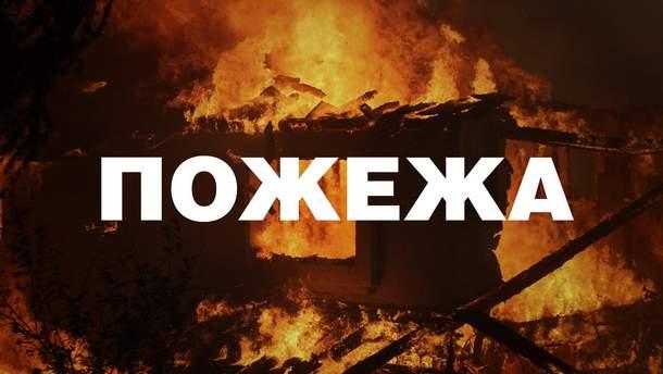 В Макеевке пожар