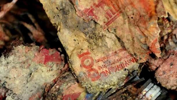 Выкопанные деньги в Китае