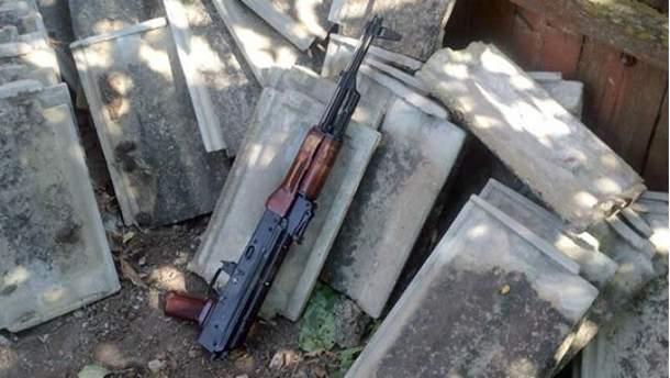 Участник АТО застрелился из автомата Калашникова
