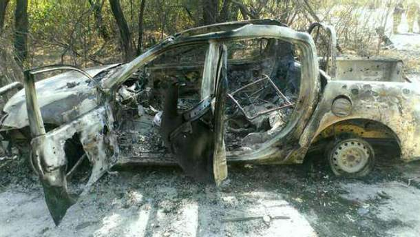 Розстріляна машина