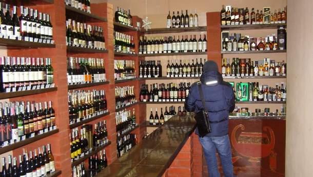 Магазин алкоголю