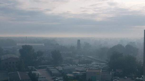 Опрос: напугал ли вас дым в Киеве?