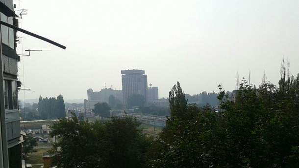 Харьков в дыму