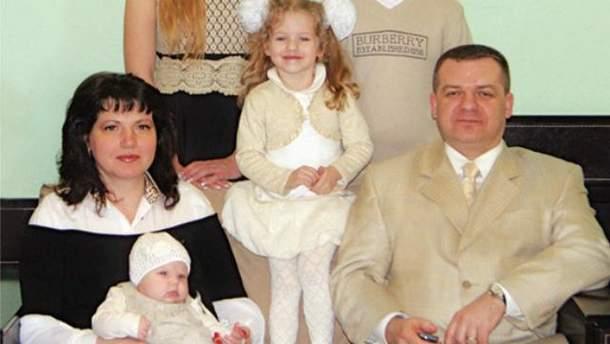 Семья Александра Корнийца
