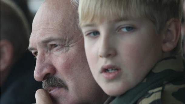Сын Лукашенко Николай