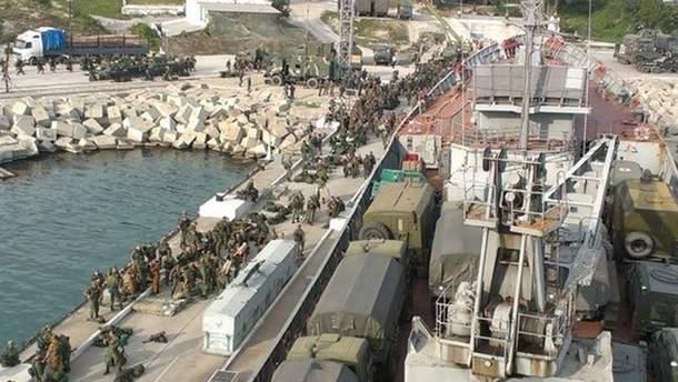 Корабль с Севастополя отправляют в Сирию