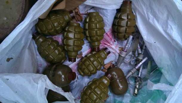 На Закарпатье снова нашли много оружия