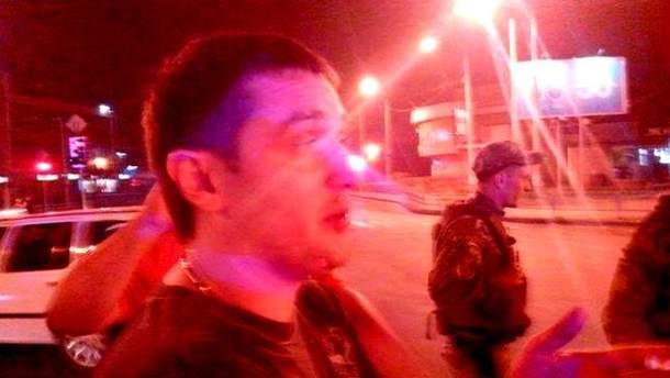 Пьяный милиционер