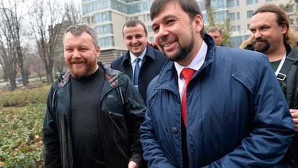 Денис Пушилін та Андрій Пургін