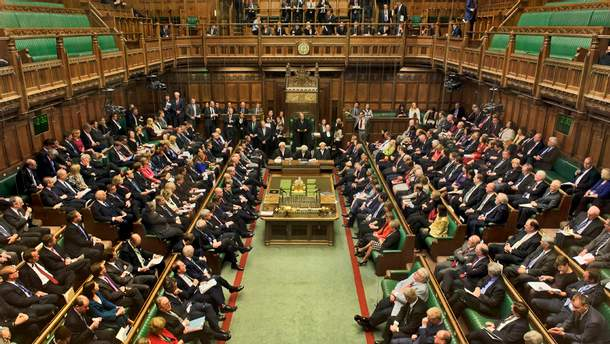 Заседание Палаты общин